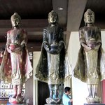 Buddhas im Restaurant