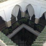 Vista del piso inferior desde el piso superior
