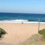 Entrance to the Indian Ocean Beach