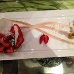 Dessert alle fragole