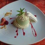 Dessert verveine