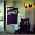 Entrada de Parador de Monforte Hotel