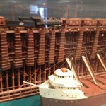 Model of ore loading terminal