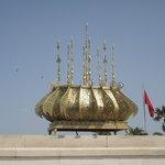 Mausoleum of Mohammed V - Ceiling Crown