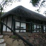 Semi-detached sleeping accommodation at Punda Maria