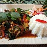Boeuf sauce basilic thai