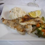 Borj Eddar - Grilled fish, veggies & rice