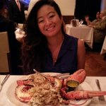 Crab meat stuffed Lobster