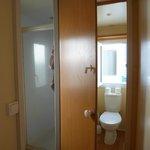 les toilettes et salle de bains