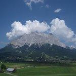 Lo Zugspitze visto dalla nostra camera