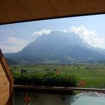 Panorama dal nostro balcone