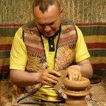 A ceramics Master at work