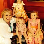 Granddaughters in the Red Room