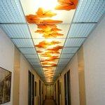 Plafond du couloir !