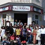 Entrance of Restaurant Taj Mahal