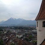 Thun Lake view from the Castle