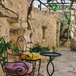 Hezen lower courtyard