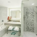 Marble Bathrooms in renovated Poinciana Wing