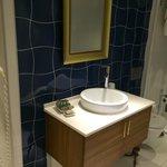 Ванная комната с феном