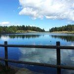 Lago en La Molina