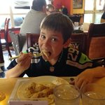 Pierogi's are a favorite of my son.