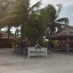 hotel beach entrance