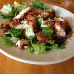 cranberry and brie salad with chicken