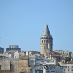 Galata Tower by day from roof top deck