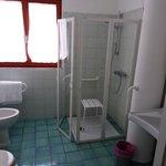 la salle de bain pour handicapés