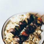 succulent lamb shish kabab
