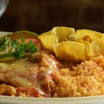 Shrimp Diable Enchiladas
