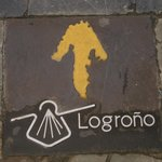 The Way of St. James runs right through Logrono