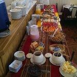 An excellent breakfast spread!