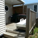 terrasse cottage 4/5 pers