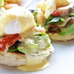 Join us for brunch and try our Eggs Bennies!
