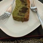 Cheesecake al te verde con scaglie di cioccolato! ⭐️⭐️⭐️⭐️⭐️