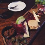 Irish Farmhouse Meat and Cheese Board