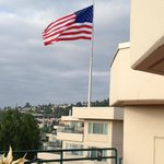 Ole' Glory Waving is a wonderful sight when you've been out of the USA!!!