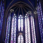 inside saint chapelle