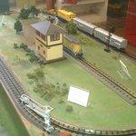 Museum train set