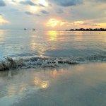 Bloody Bay sunset (SATP private beach)