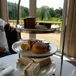 Afternoon tea - a real disappointment.