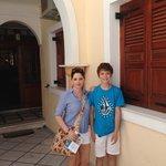 Antonia Hotel main entrance