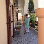 Antonia Hotel porch