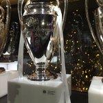 The champions league trophy!