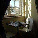 Sala onde é servido o café da manhã