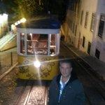 Elevador da Glória - Lisboa, Portugal