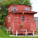 The caboose - back view