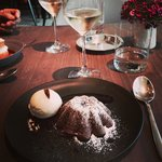 Petit Gateaux-a signature dessert from Jean Georges