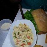 interestingly simple pasta salad